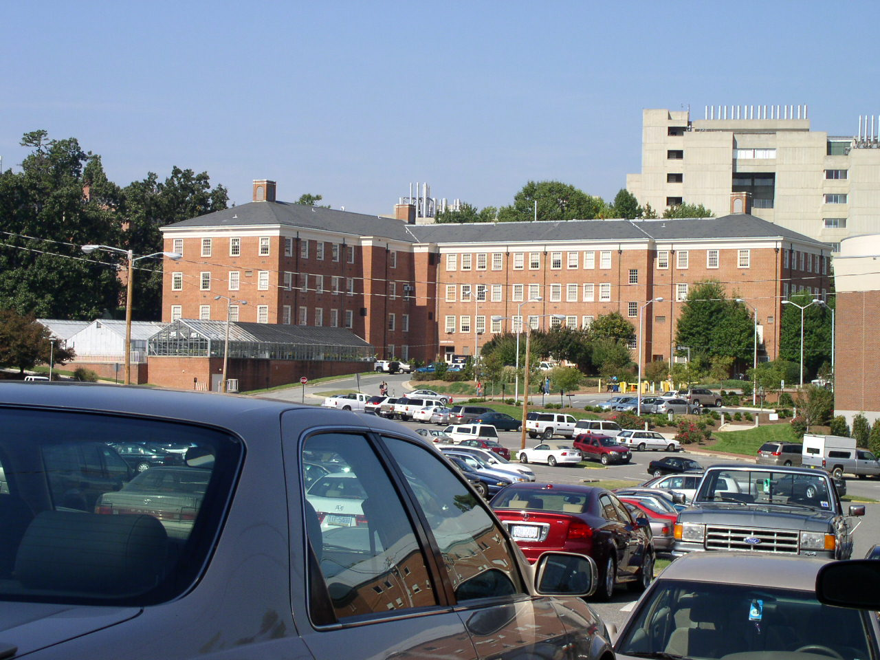Contemporary Photo of Coker Hall
