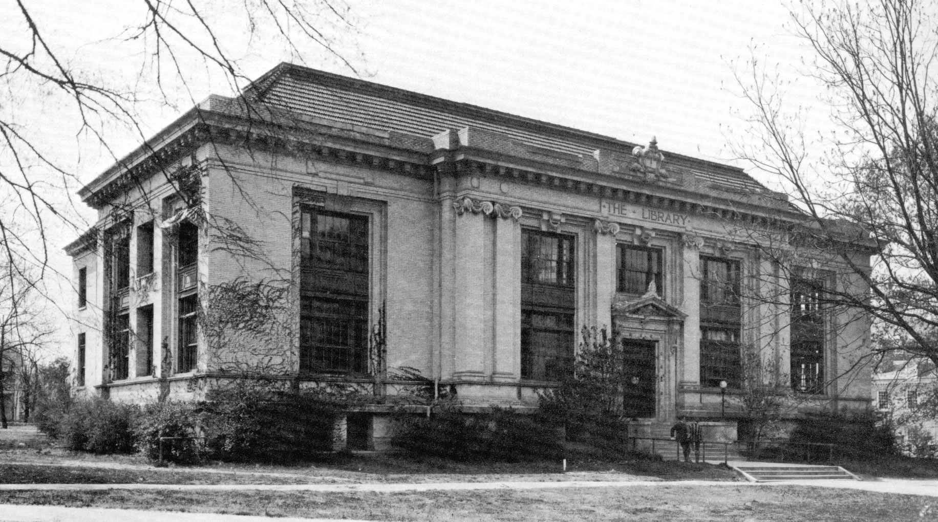 Carnegie Library, UNC. Photo courtesy of UNC Plan Room: https://planroom.unc.edu/FacilityInfo.aspx?facilityID=020