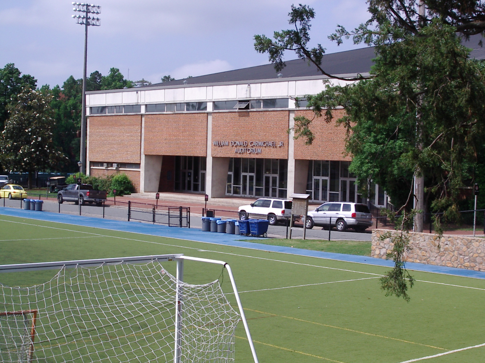 Historical Photo of Carmichael Arena