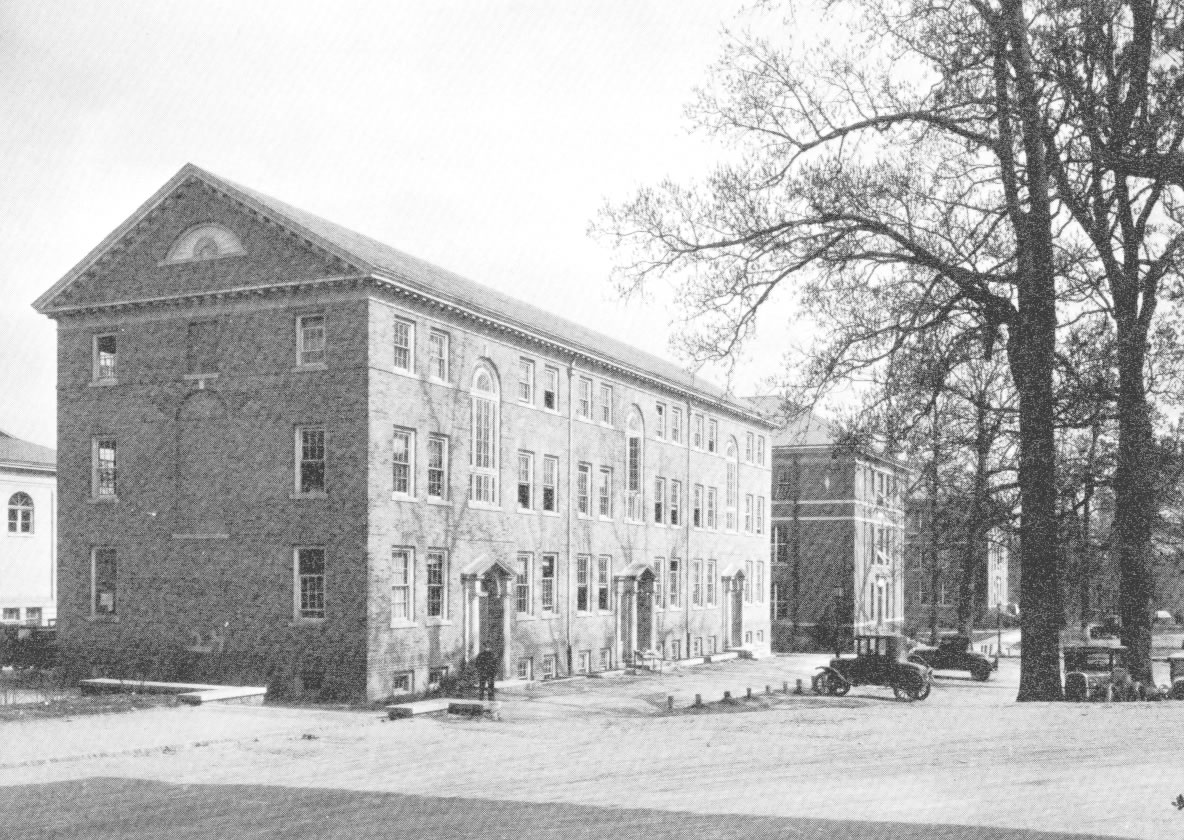 Historical Photo of Steele Building