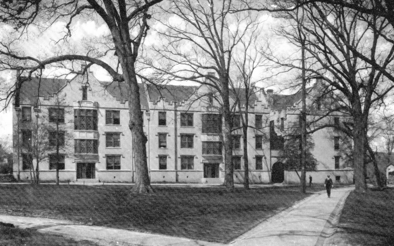 Historical Photo of Battle Hall