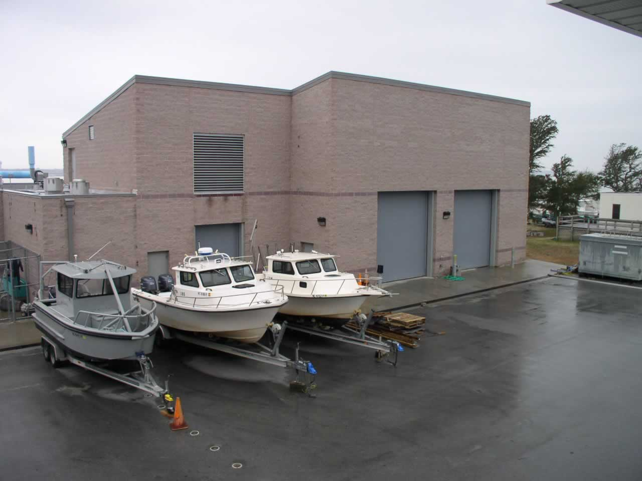 Contemporary Photo of IMS Fisheries Research Lab