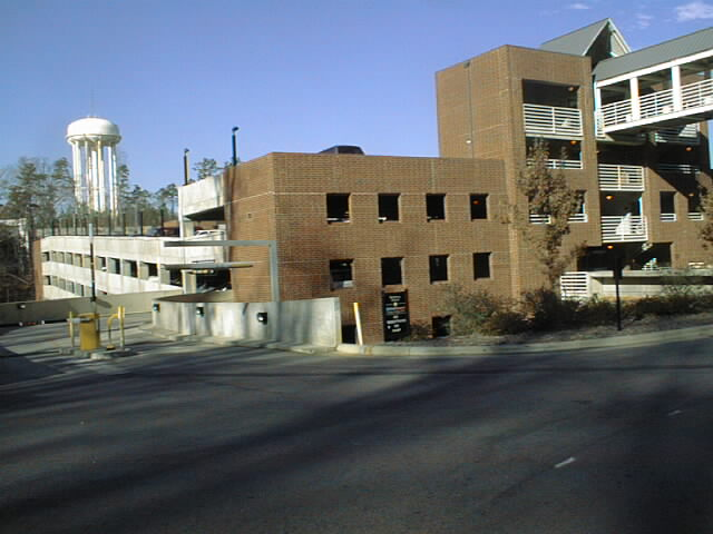 Historical Photo of Business Parking Deck