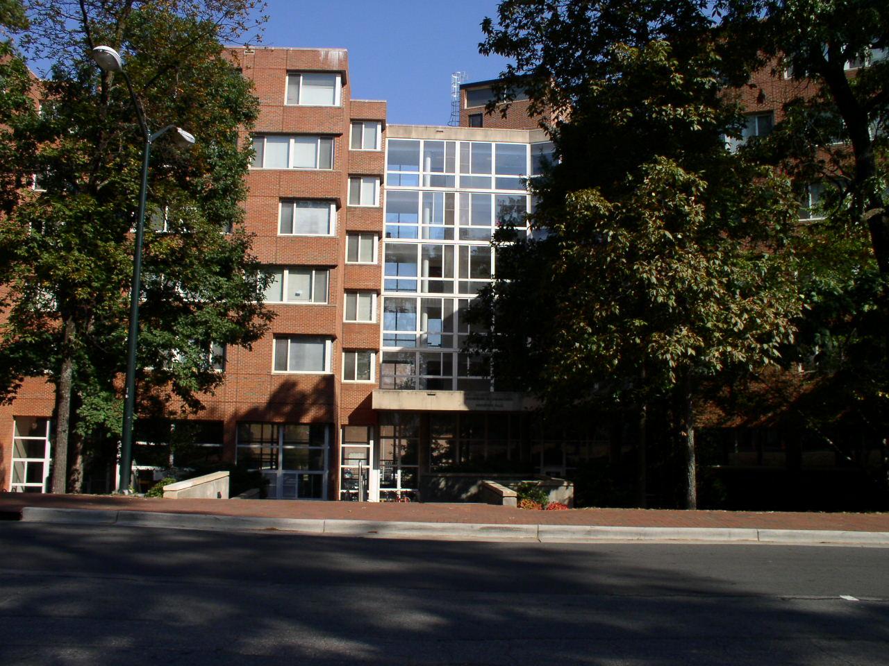 Historical Photo of Carmichael Residence Hall