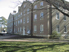 Contemporary Photo of Alexander Residence Hall