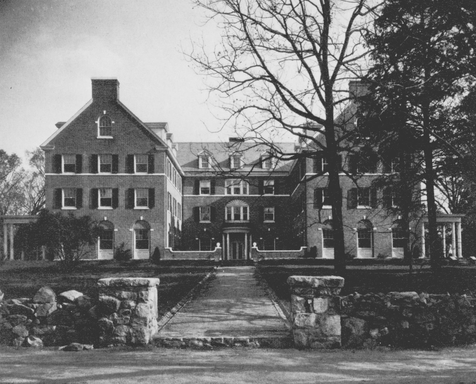 Historical Photo of Spencer Residence Hall