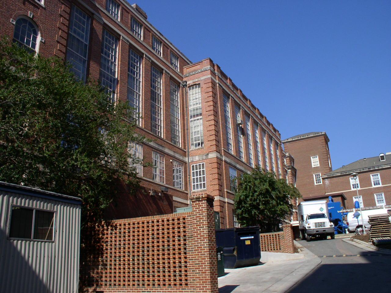 Contemporary Photo of MacNider Hall