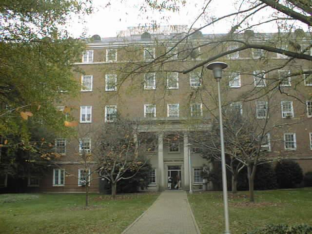 Historical Photo of Bondurant Hall