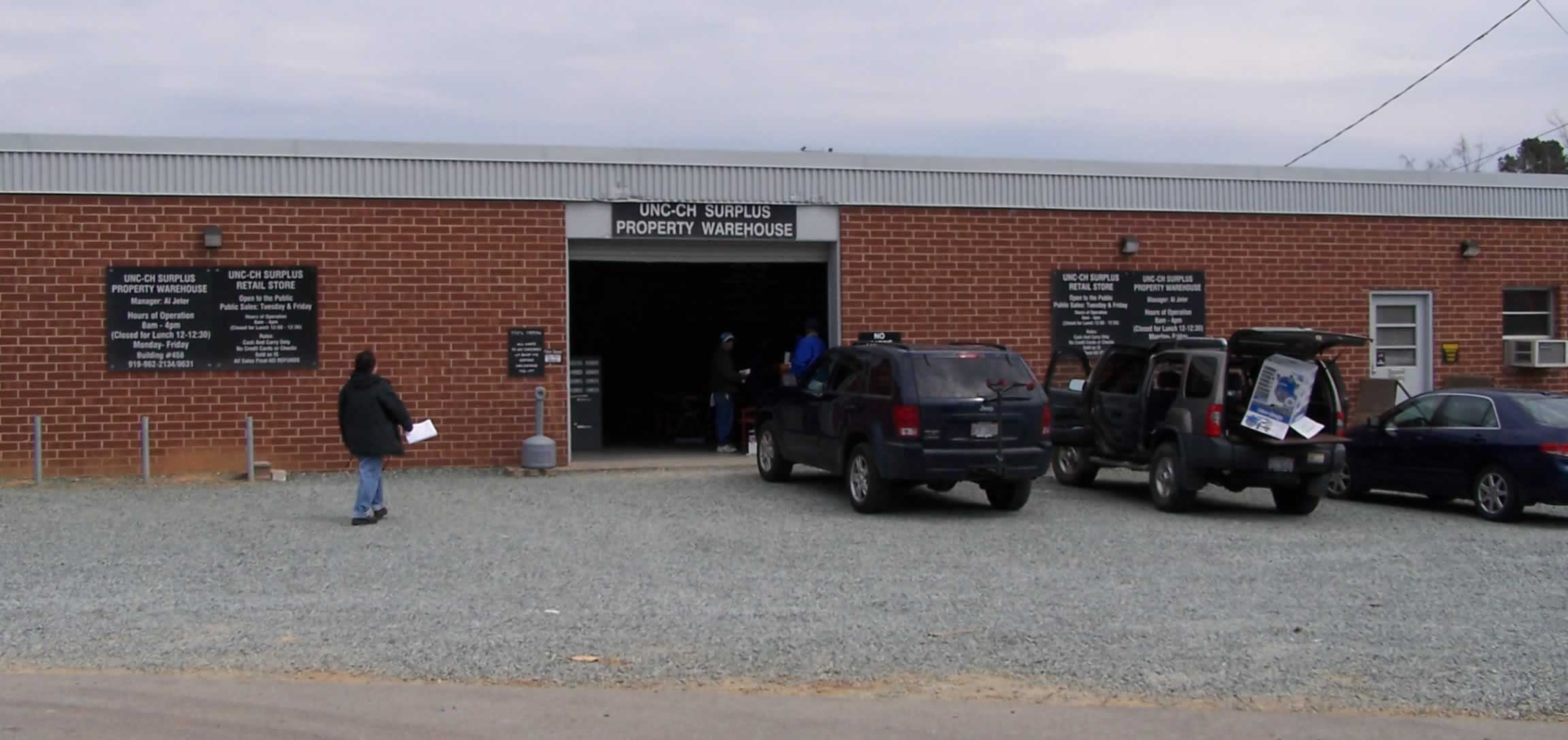 Contemporary Photo of Surplus Property Warehouse