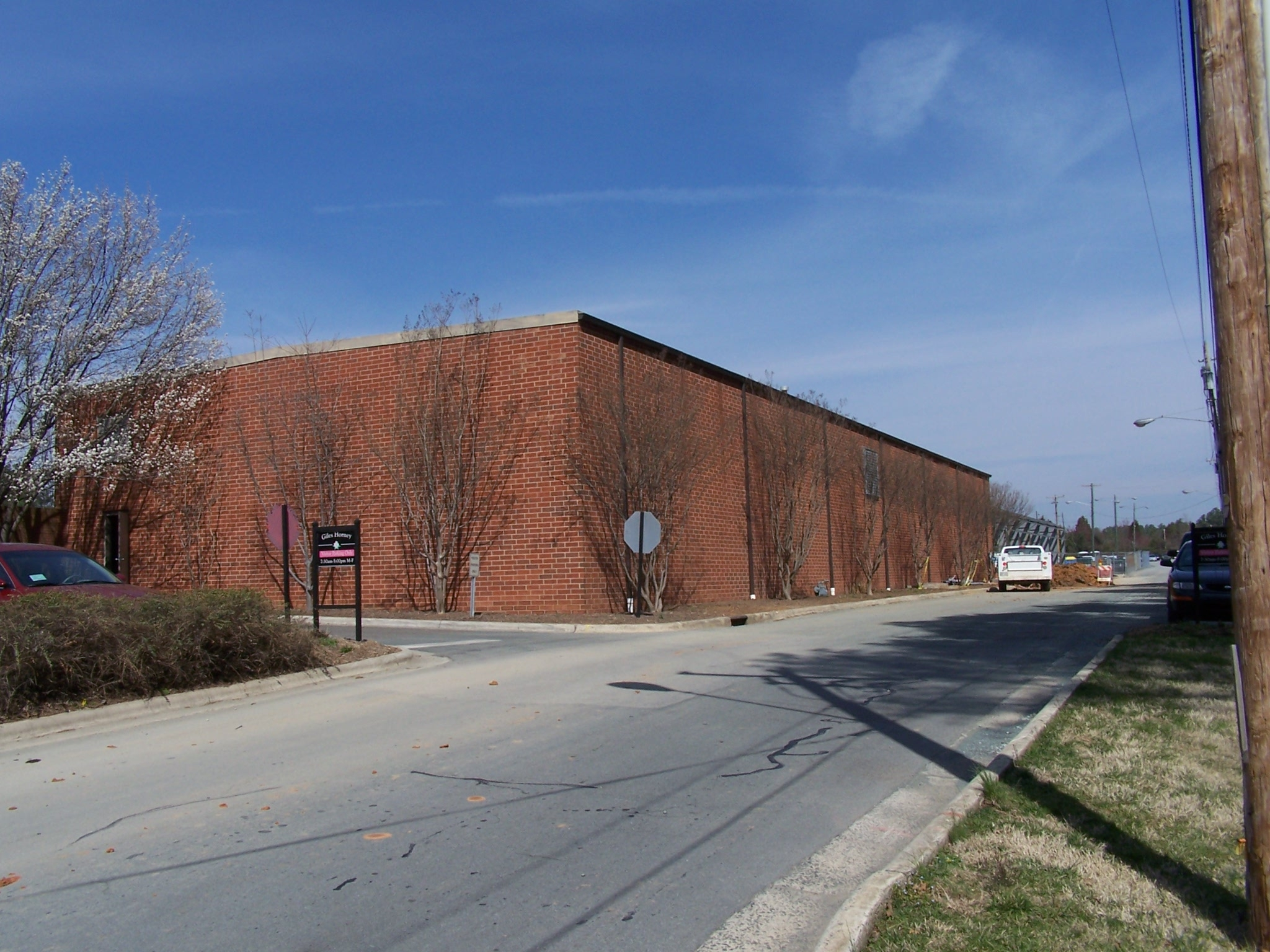 Historical Photo of Horney Building Annex