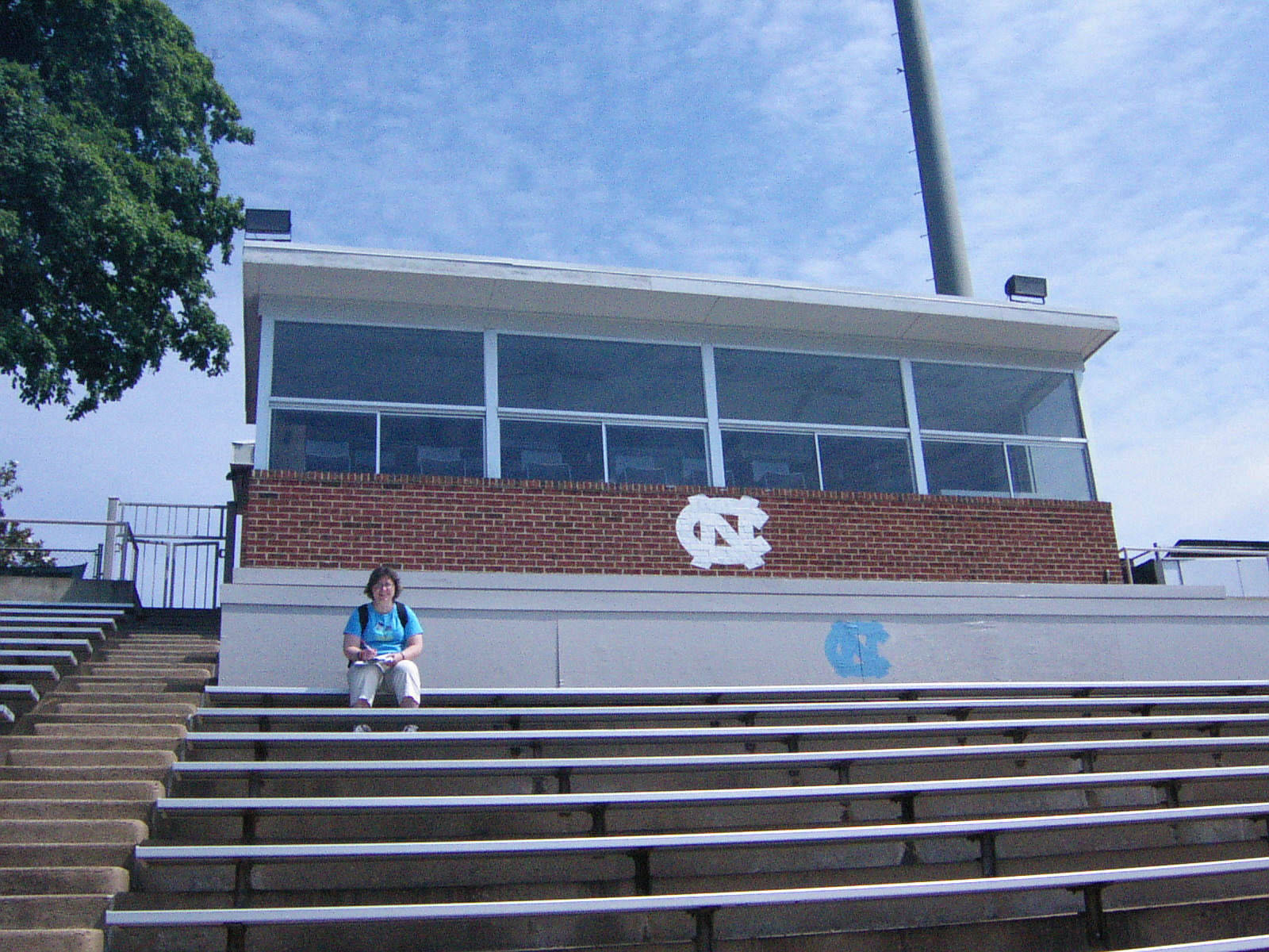 Contemporary Photo of Fetzer Field Grandstand