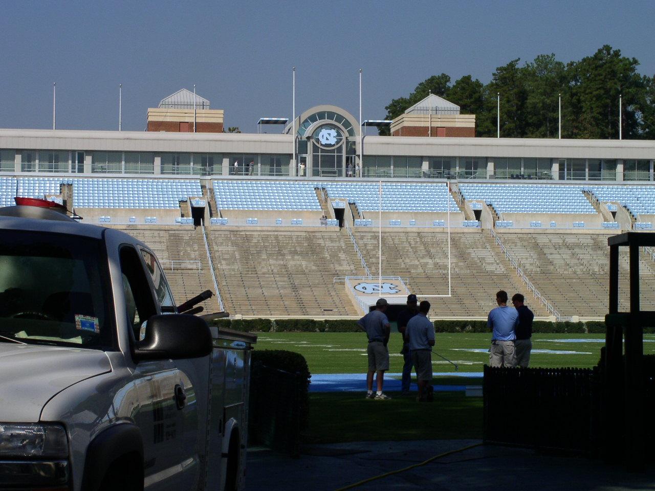 Historical Photo of Frank H. Kenan Football Center