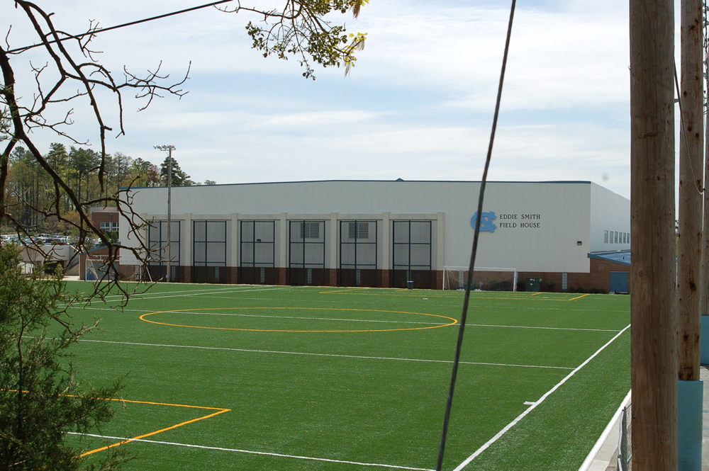 Contemporary Photo of Eddie Smith Field House
